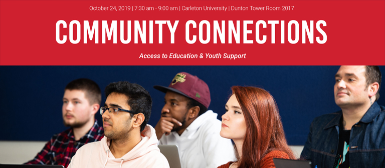 Banner image for On behalf of Carleton University and the Centre for Initiatives in Education...