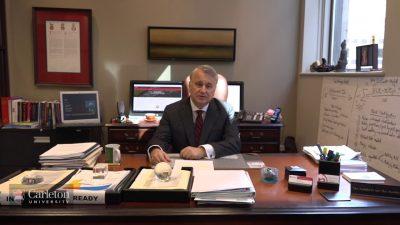 Thumbnail for: Board of Governors Chair Nik Nanos Congratulates Carleton University Graduates